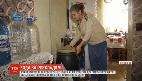 Жителі Борислава отримують воду лише три години на добу