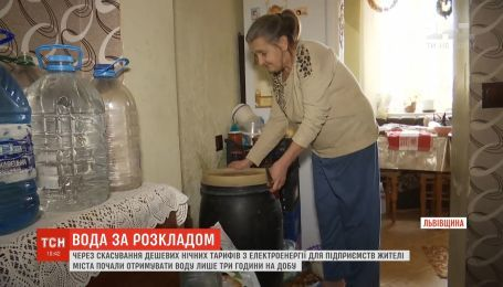 Жители Борислава получают воду только 3 часа в сутки