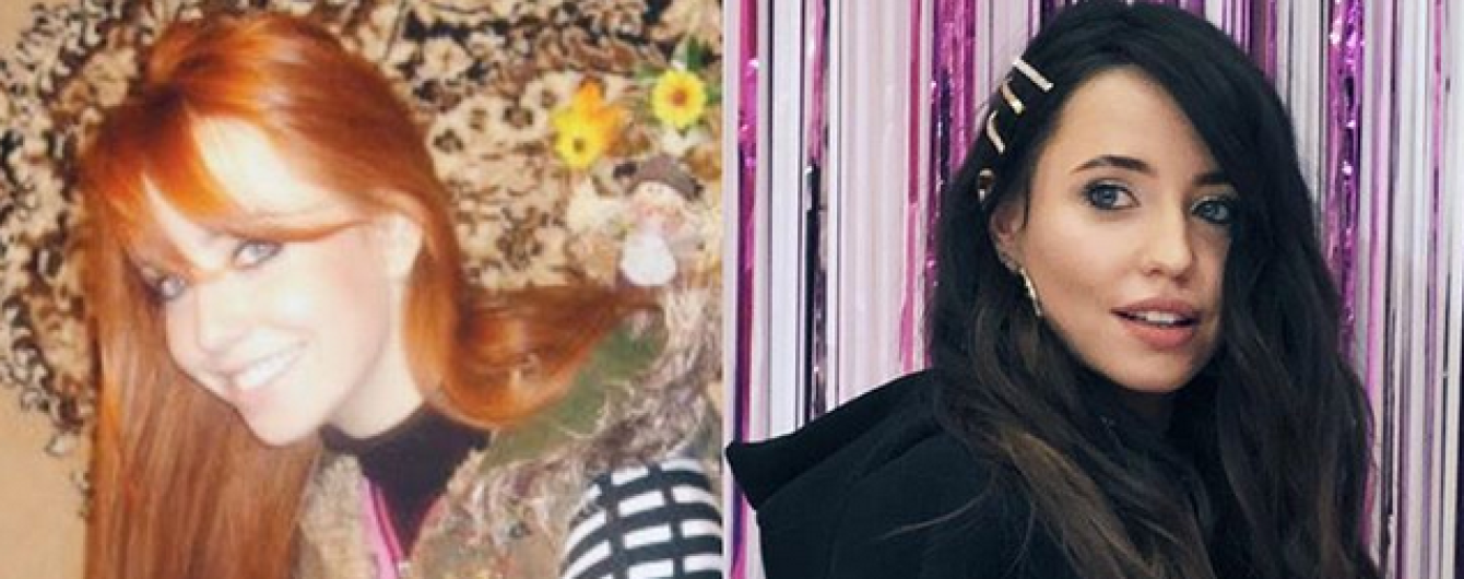 З рудим волоссям і на тлі килима: Надя Дорофєєва показала фото десятирічної давності