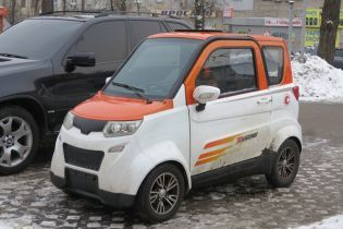 В Украине в продаже появился электрокар всего за $3,5 тысячи