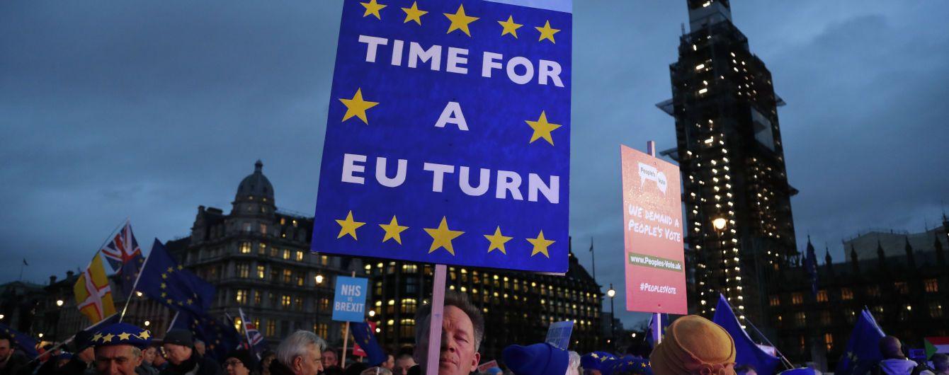 Парламент Британії заблокував угоду про Brexit: три сценарії подальшого розвитку подій в одній картинці