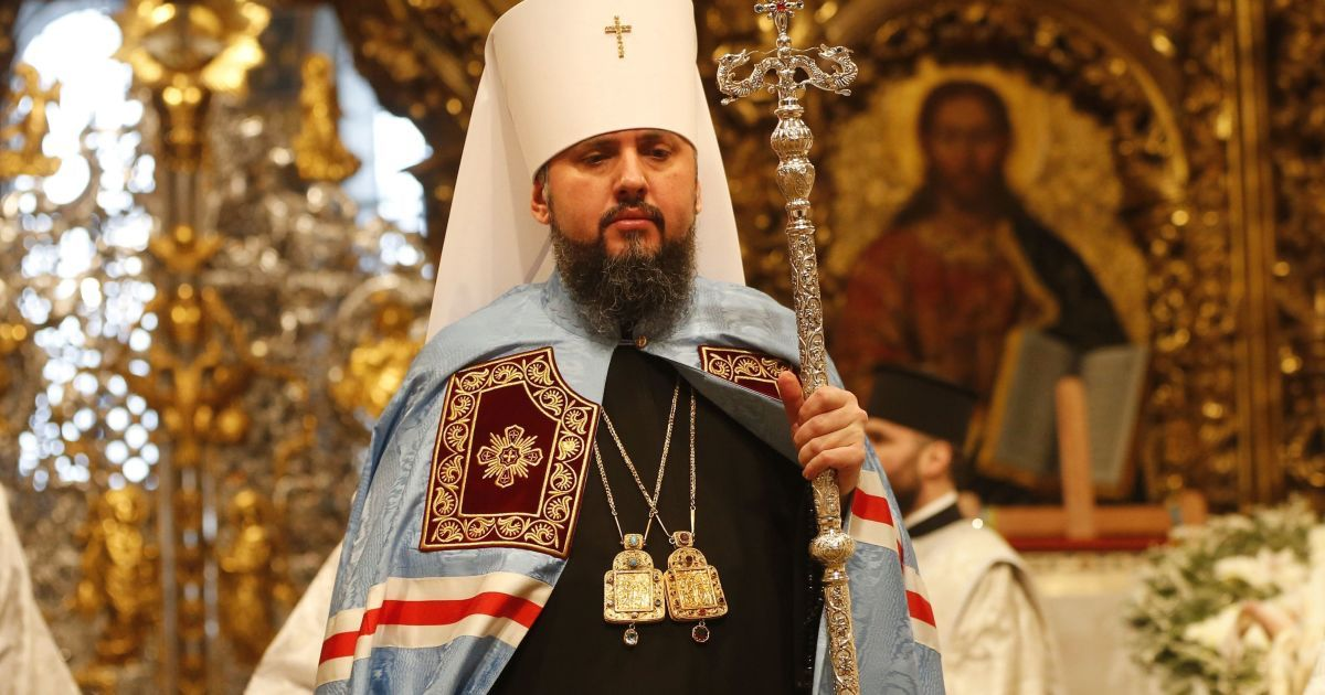 На интронизацию митрополита Епифания портные готовят уникальную мантию
