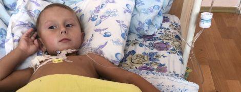 3-летний Саша нуждается в немедленной помощи