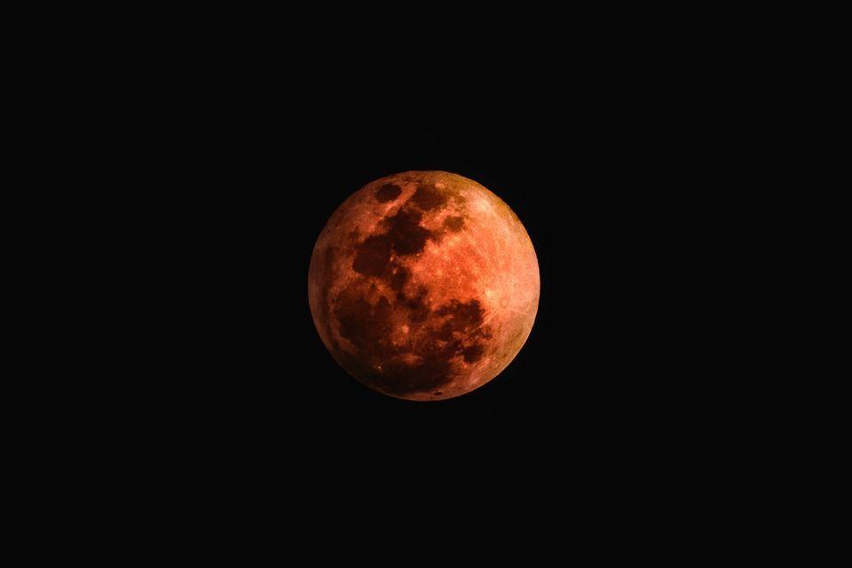 Місячне затемнення, для блогів