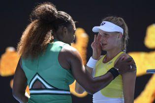 Ястремська не подужала Серену Вільямс і завершила виступи на Australian Open