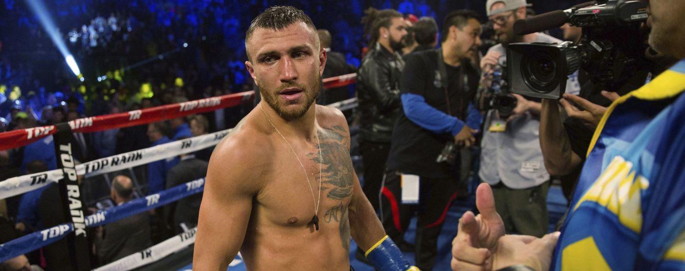 WBA обязала Ломаченко выйти на супербитву с британцем