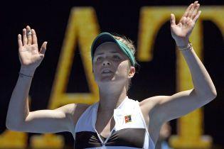 Світоліна встановила рекорд України на Australian Open