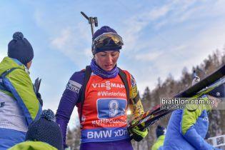Украинские биатлонистки показали худший результат в эстафете за всю историю
