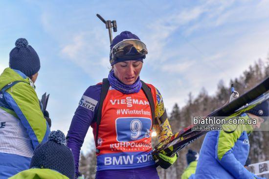 Українські біатлоністки показали найгірший результат в естафеті за всю історію
