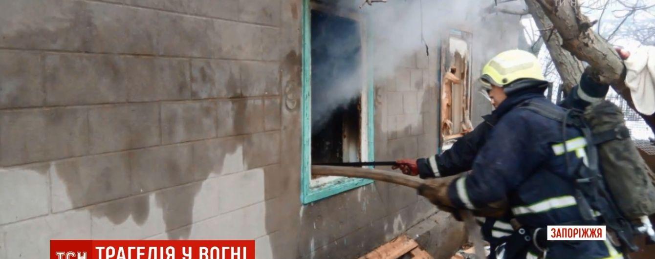 В Запорожской области покончила с собой мать погибших в пожаре детей
