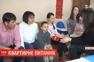 В Житомире многодетную семью могут выселить из квартиры