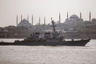 В Росії відреагували на входження до Чорного моря американського есмінця
