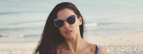 Худа і в строкатому купальнику: Маша Єфросиніна поділилася пляжним знімком