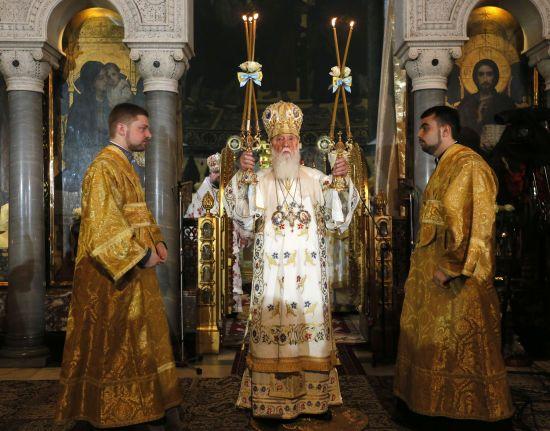 Патріарх Філарет привітав Зеленського із перемогою на виборах