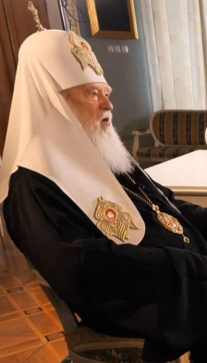 """""""Вони хочуть розколоти, а ми будемо єднати"""": Патріарх Філарет дав ексклюзивне інтерв'ю ТСН.Тижню"""