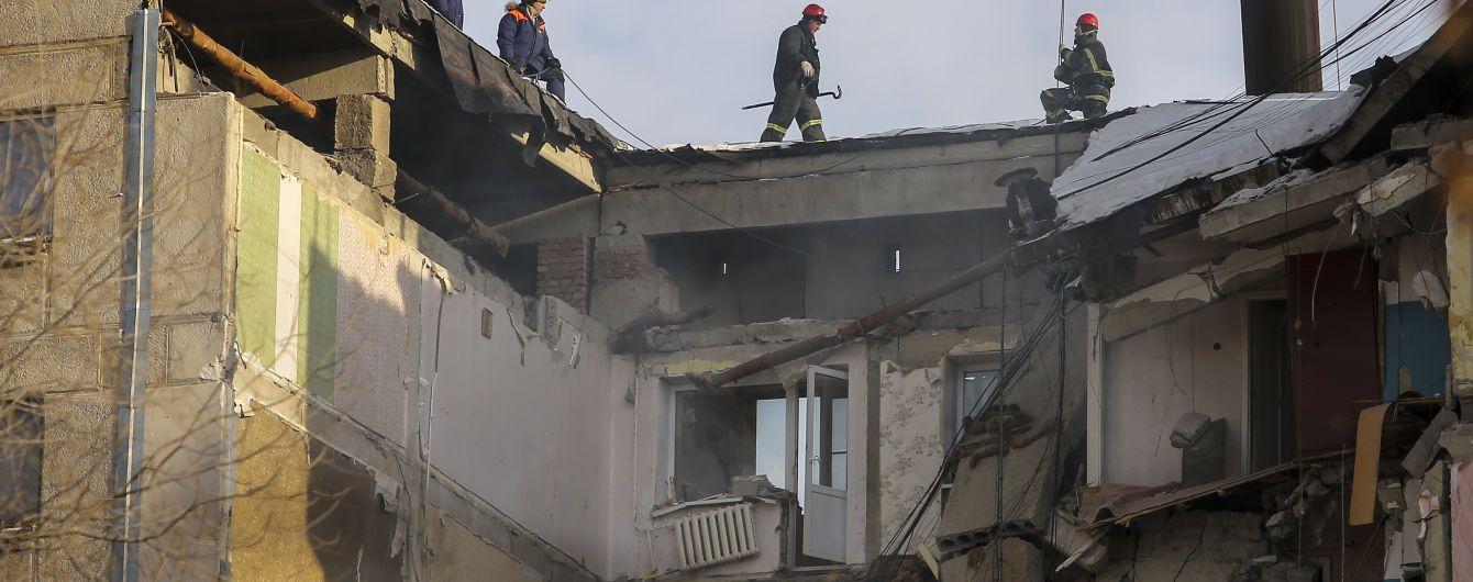 В Сети появилось видео, как в Магнитогорске снесли остатки пострадавшего от взрыва подъезда