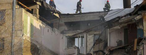 У Мережі з'явилося відео, як у Магнітогорську знесли залишки постраждалого від вибуху під'їзду