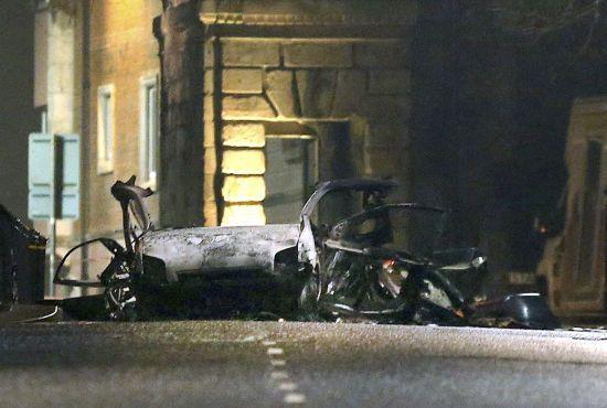 """Вибух у Північній Ірландії: поліція затримала двох екстремістів з """"Нової ІРА"""""""