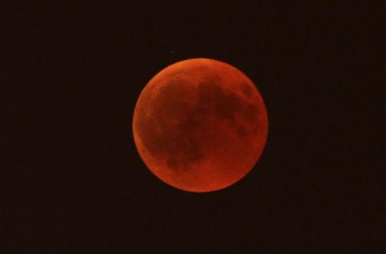 """У ніч проти понеділка українці спостерігатимуть """"криваве"""" затемнення Супермісяця. Інфографіка"""