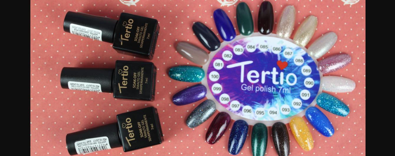 Гель-лаки Tertio — вибір майстрів нейл індустрії