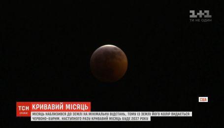 """""""Кривавий Місяць"""": як за незвичайним явищем спостерігали у США"""