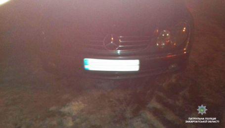 Зухвалі п'яні іноземці влаштували ДТП в Ужгороді та потрапили на відео