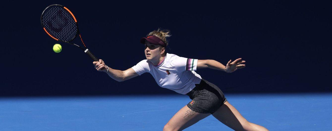 Світоліна може стати першою ракеткою світу, якщо вийде у фінал Australian Open