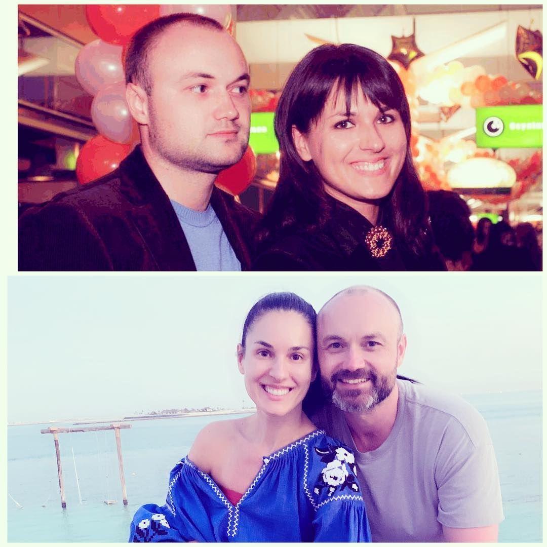 Маша Єфросиніна з чоловіком