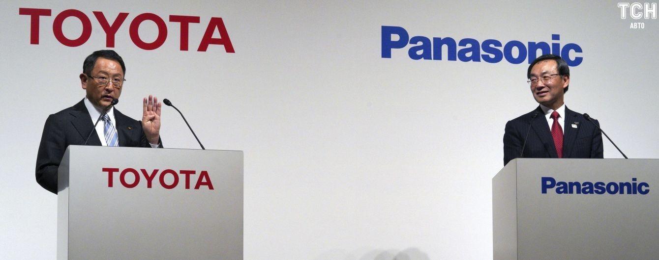 Toyota и Panasonic готовятся к агрессивному производству батарей