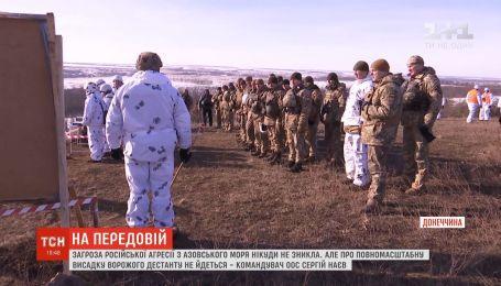 Угроза российского вторжения из Азовского моря никуда не исчезла - командующий ООС