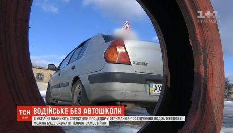 В Україні можна буде отримати водійське посвідчення без хабарів і автошколи