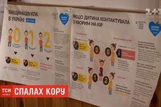 На Одещині батьки виступають проти шпиталізації дітей, які захворіли на кір