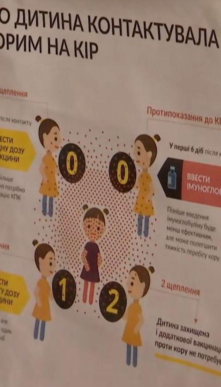 В Одесской области родители выступают против госпитализации детей, заболевших корью
