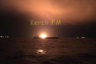 Пожар в Керченском проливе: пострадавшие судна причастны к незаконным поставкам газа в Сирию - МинВОТ