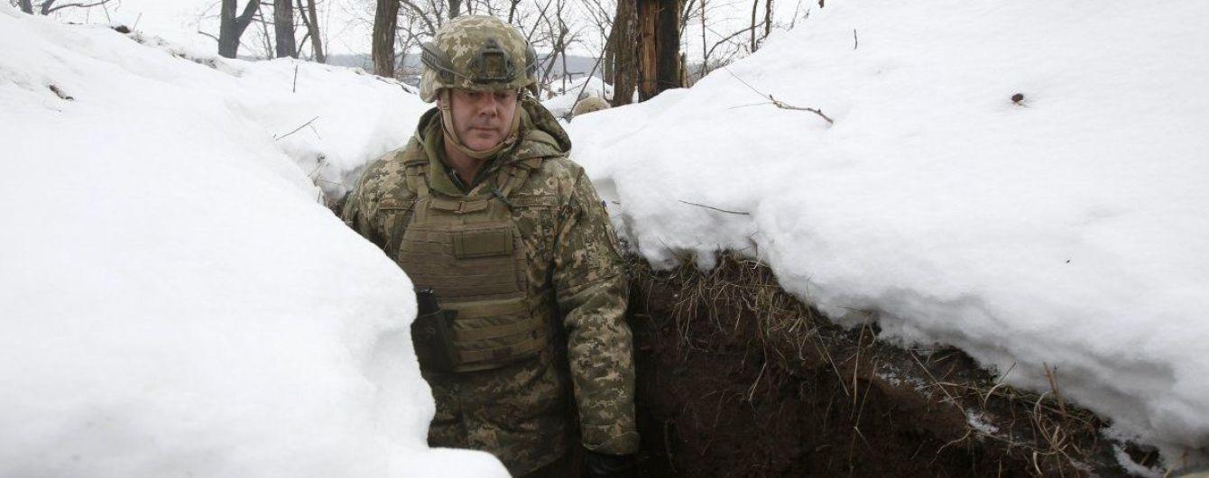 Генерал Наев предоставил ОБСЕ доказательства эскалации Россией ситуации на Донбассе