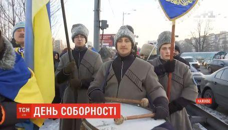 """В День Соборности в столице планируют создать """"живую цепь"""" через Днепр"""