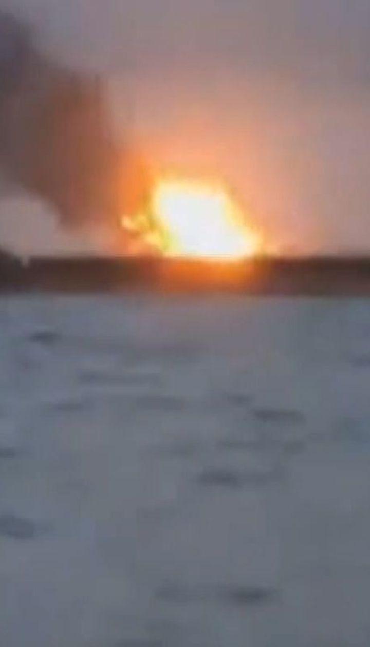 У Керченській протоці зупинили рятувальну операцію після пожежі на двох суднах