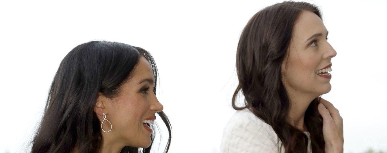 Премьер-министр Новой Зеландии поделилась впечатлениями от общения с герцогиней Сассекской и принцем Гарри