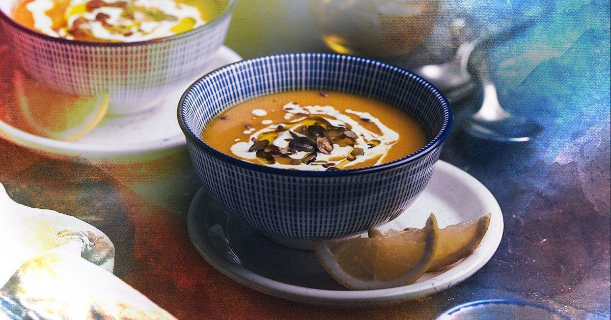 Пряний гарбузовий суп