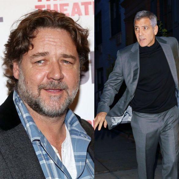 Джордж Клуни и Рассел Кроу