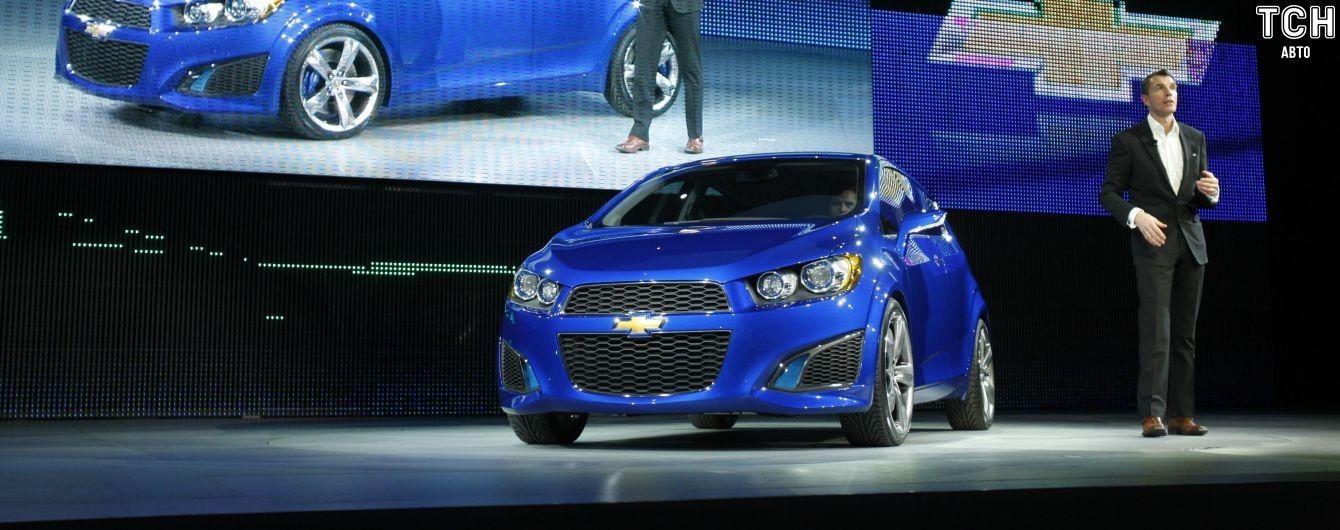 Chevrolet Aveo окончательно сняли с производства