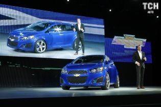 Chevrolet Aveo остаточно зняли з виробництва