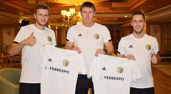 """""""Ворскла"""" підписала контракти з двома балканцями"""