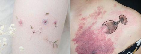 Космос і квіти замість шрамів. 10 цікавих татуювань, які роблять дефекти тіла красивими