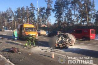 """Ужасное столкновение """"Таврии"""" и Volkswagen под Киевом. Выяснилась причина аварии"""