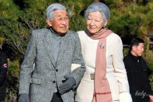 Такими мы их еще не видели: император Японии Акихито и императрица Митико на прогулке