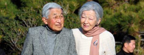 Такими ми їх ще не бачили: імператор Японії Акіхіто й імператриця Мітіко на прогулянці