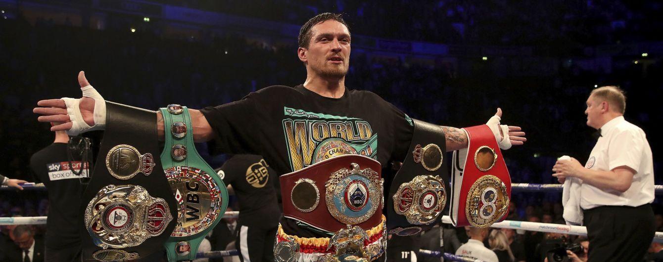 Бій Усика з Такамом відбудеться у Чикаго - Boxing Scene