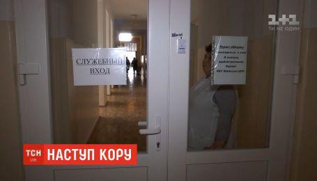 На Одещині кількість хворих на кір дітей зросла до 58