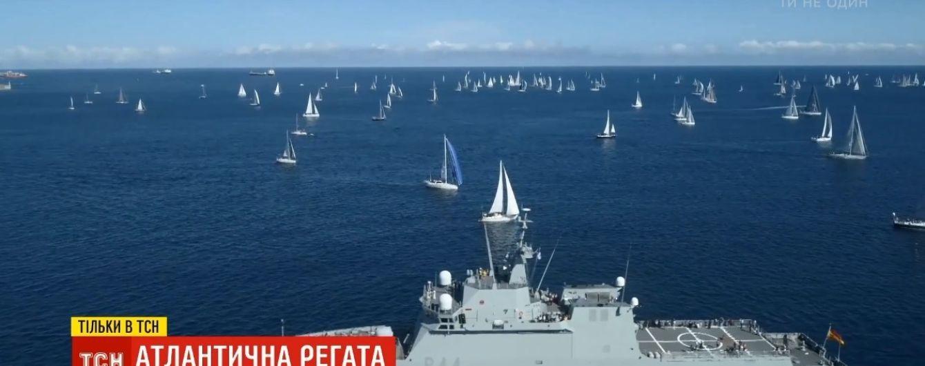 Украинские яхтсмены переплыли Атлантику, невзирая на опасности и 4-метровые волны